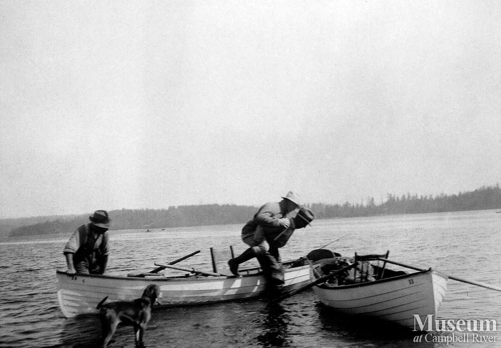 Fishing Guide And Guest Campbell River Museum Photo