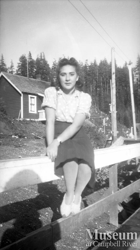 Anne (Henderson) Brotchie at Bones Bay