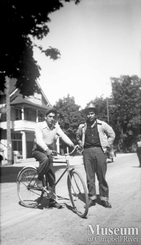 Henry Naknakin and Jim Quatell