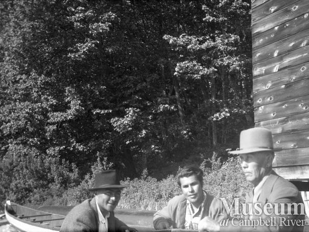 Butch Henderson, Jim Quatell, and Dan Quatell