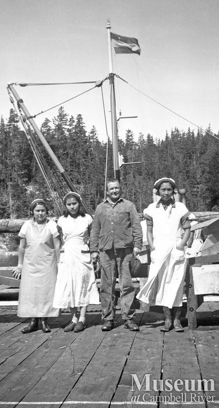Bones Bay cannery workers