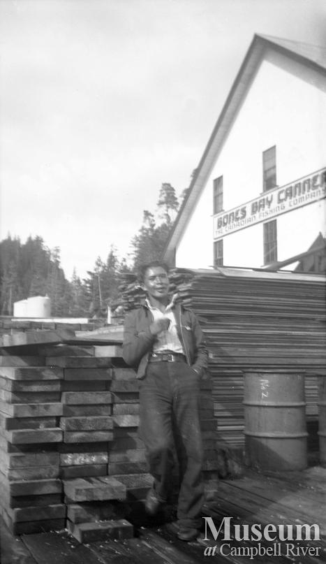Peter Mountain at Bones Bay Cannery