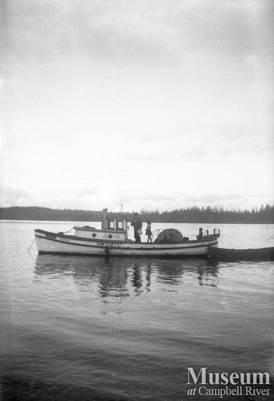 Sam Henderson's boat - the 'Sake'