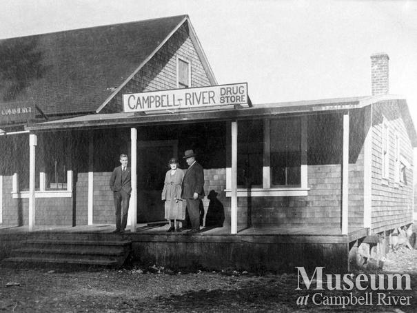Canadian Bank of Commerce and Campbell River Drug Store
