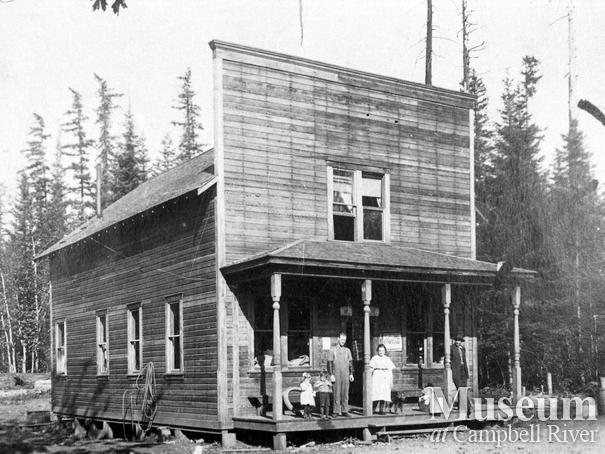 Crawford and McNeil's store in Campbellton