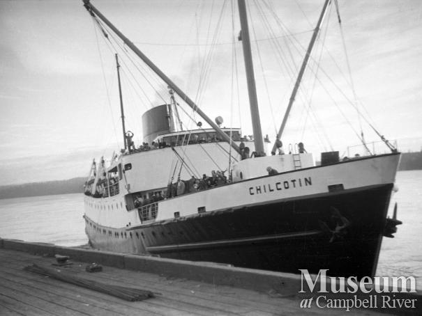 The Union Steamship S.S. Chilcotin