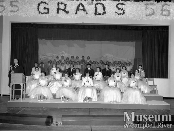 Campbell River graduating class of 1956