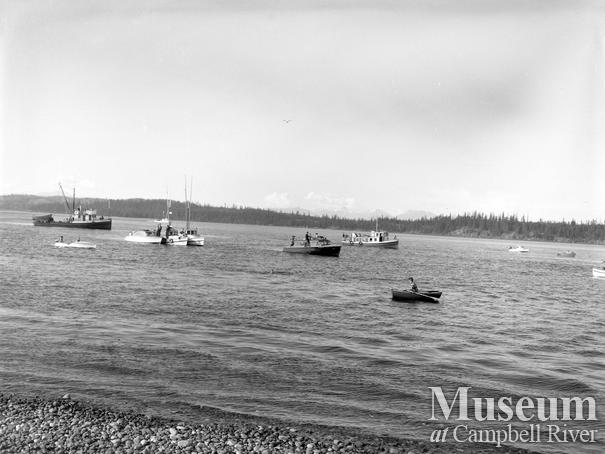 Boat regatta, July 1st celebrations, Campbell River