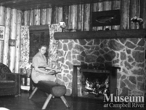 Interior view of the Campbell River Lodge