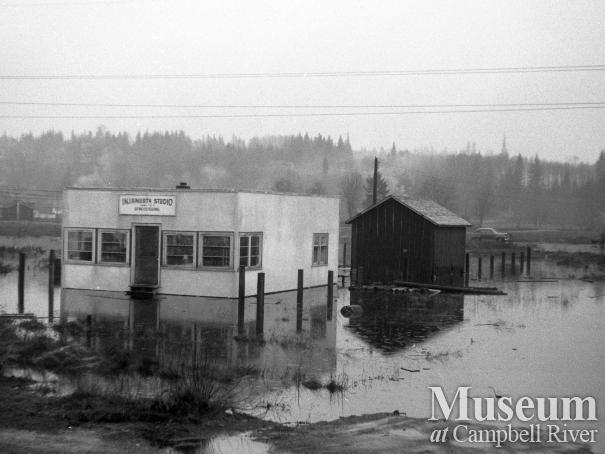 A Campbell River flood