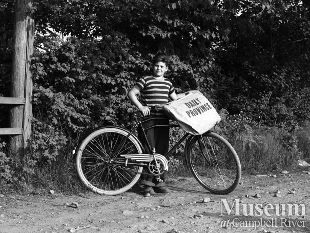 Godfrey Baldwin's paper boy