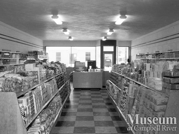Interior of Overwaitea store