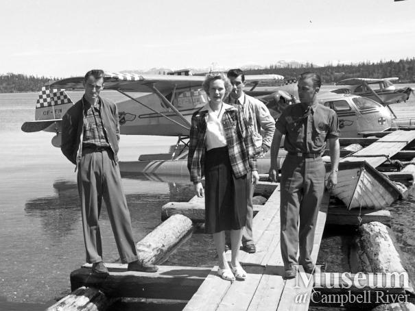 B.C. Airlines pilot and passengers
