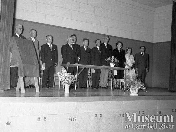 The official opening of Willow Point Elementary School
