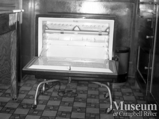 A mini-fridge given to the Hospital