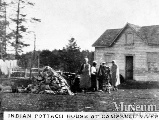 Mary Quocksister's Potlatch House
