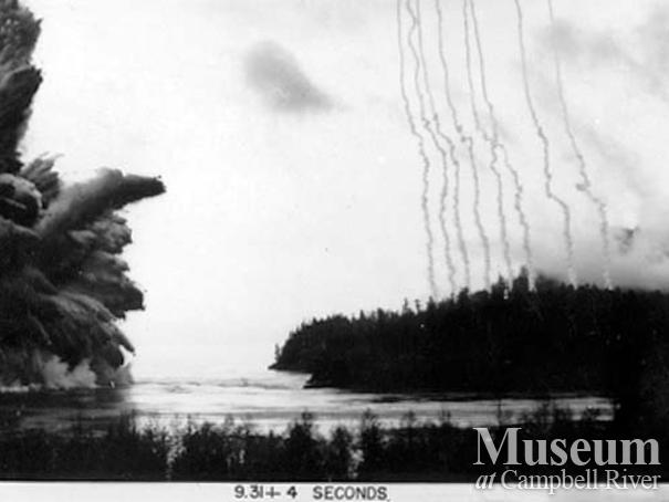 The Ripple Rock Explosion, Seymour Narrows