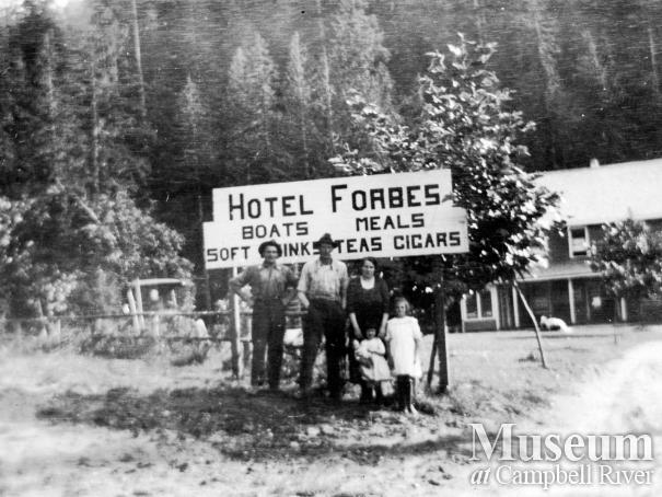 Forbes Landing Lodge on lower Campbell Lake