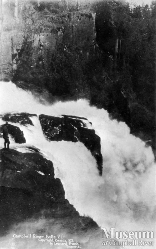 View of Campbell River (Elk Falls)