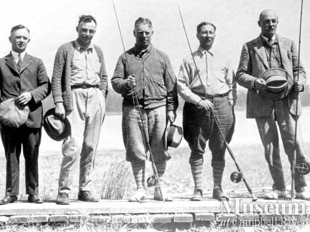 Founding members of the Tyee Club of British Columbia