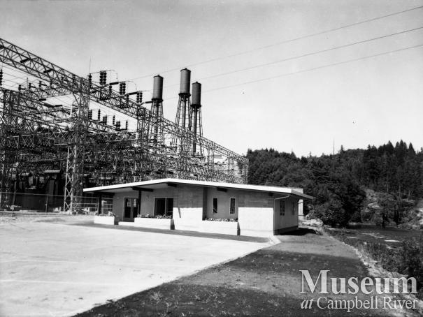 BC Hydro's John Hart Generating station