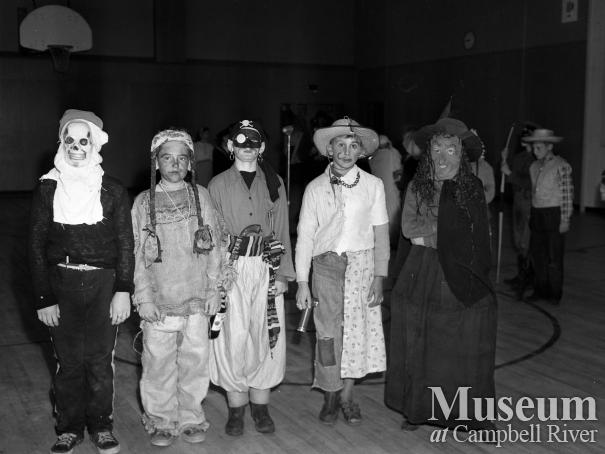 Children attending Halloween Party