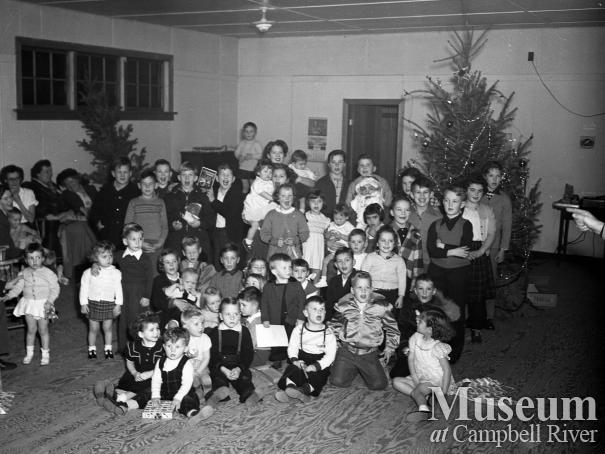 Children's Christmas party, Campbell River
