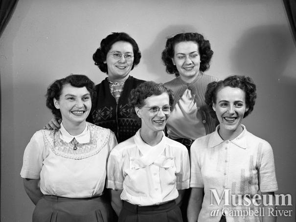 Members of the Willow Point Ladies Bowling Team