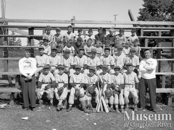 Campbell River Midget Baseball Team