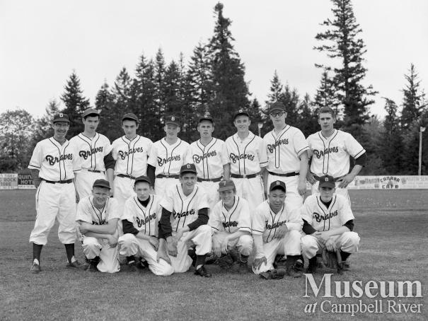 "Campbell River Baseball Team "" Braves"""