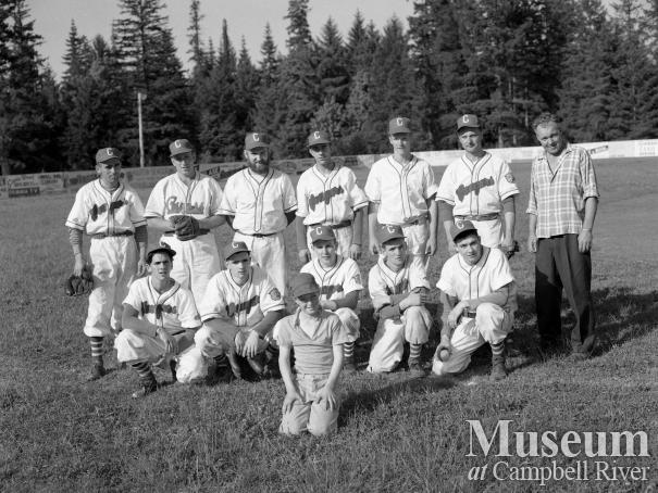 "Campbell River Baseball Team ""Cougars"""