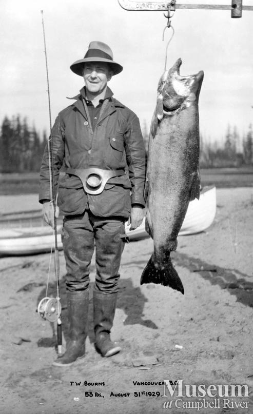 T.W. Bourns with catch