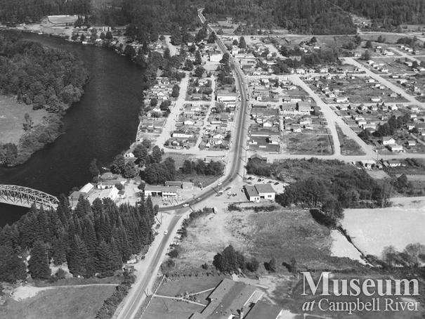 Aerial view of Campbellton