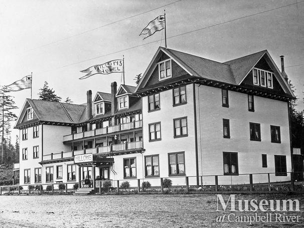 The third Willows Hotel, Campbell River