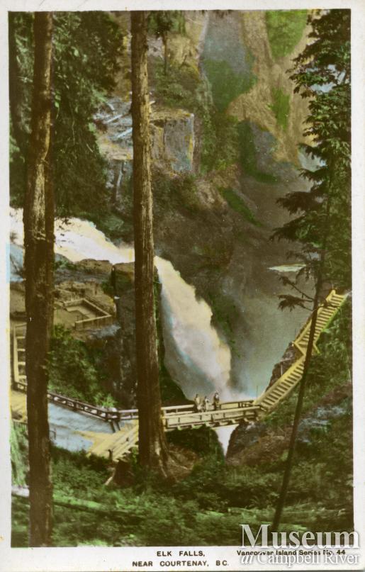 View of Elk Falls, Campbell River