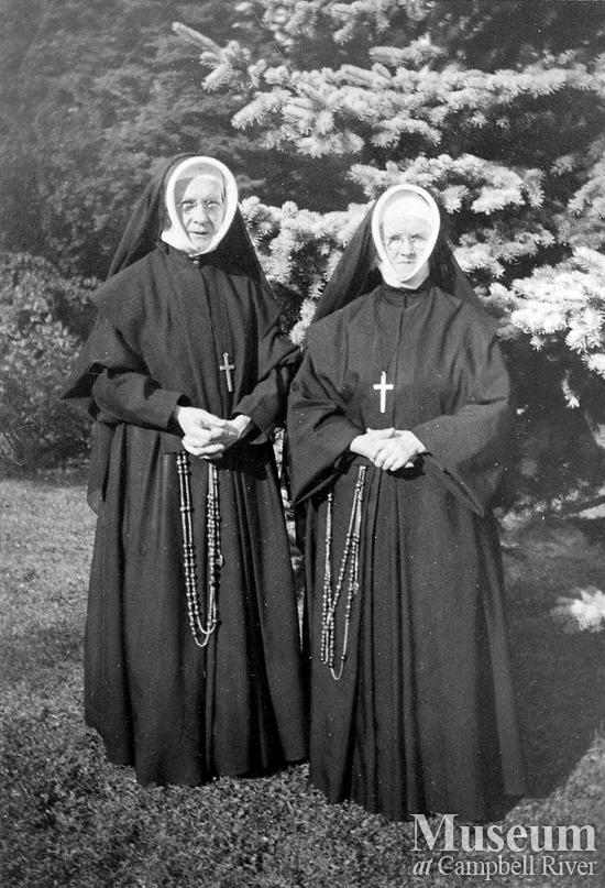 Two of Sisters of St. Ann at Cambpell River