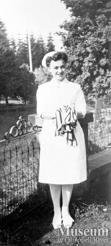 Catherine Morrissey, a nurse at the Lourdes Hospital
