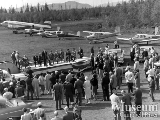 Opening of the Campbell River Airport