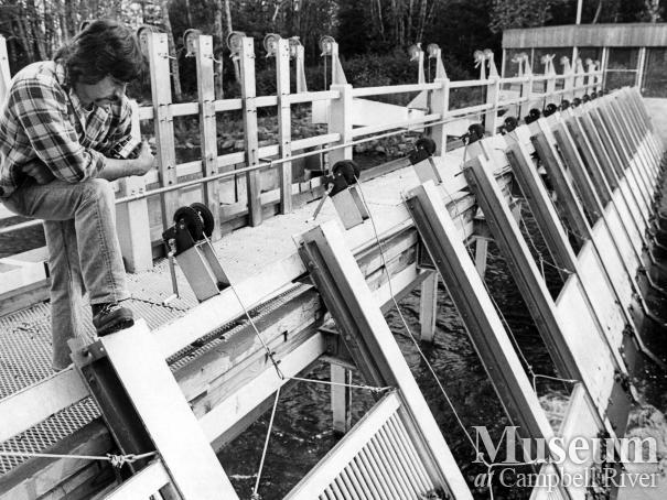 Quinsam Fish Hatchery, September 1976