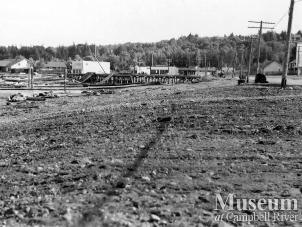 Campbell River Waterfront, 1949