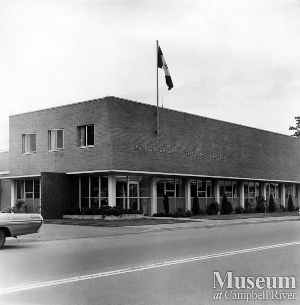 B.C. Tel building, Campbell River