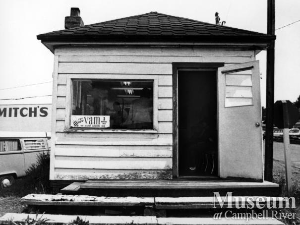 Ken Sogawa's barber shop located on St. Ann's, Campbell River