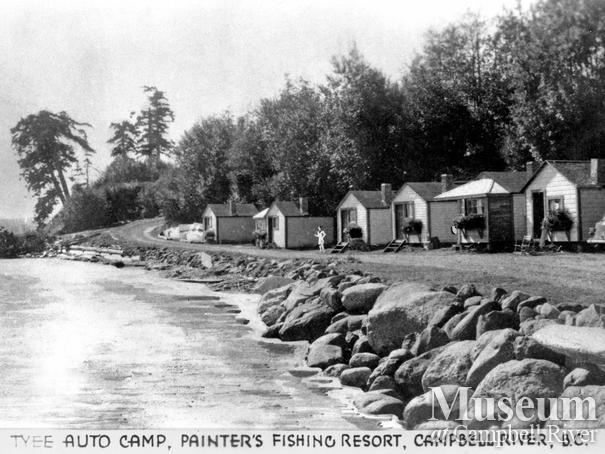 Tyee Auto Camp, Painter's Fishing Resort