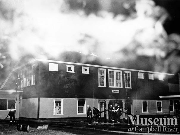 Fire at Elm Street School