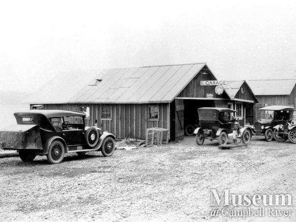 First garage in Campbell River