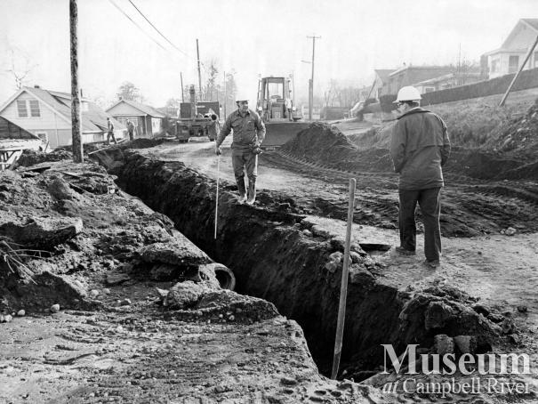 City Crew installing New Pipelines