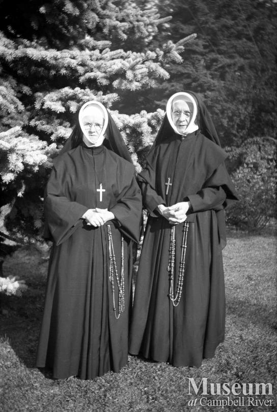 Two Sister's of St. Ann's at Campbell River