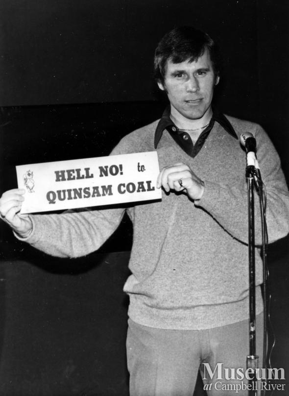 Quinsam Coal protest, Campbell River