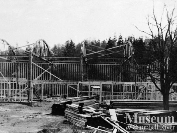 Building the Campbell River Community Hall