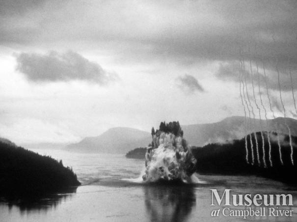 The Ripple Rock Explosion